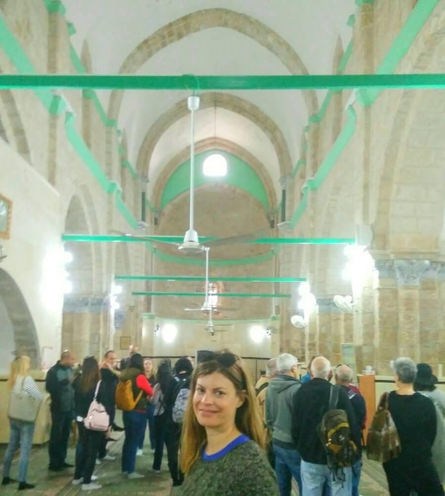 The big mosque in Ramle, Israel. Adiseesworld travel blog
