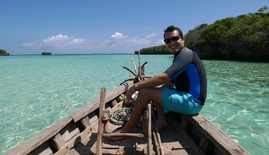 Gil Drori Travel Blogger, Mafia Island