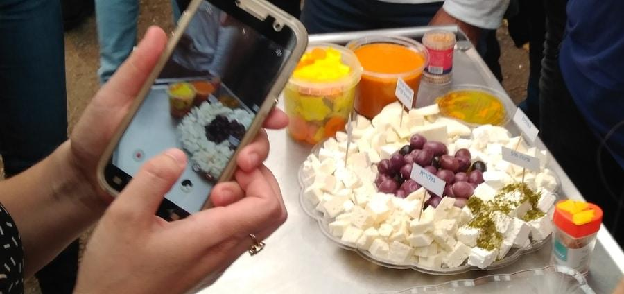 Israel, Ramle market culinary tour - cheeses סיור קולינרי ברמלה