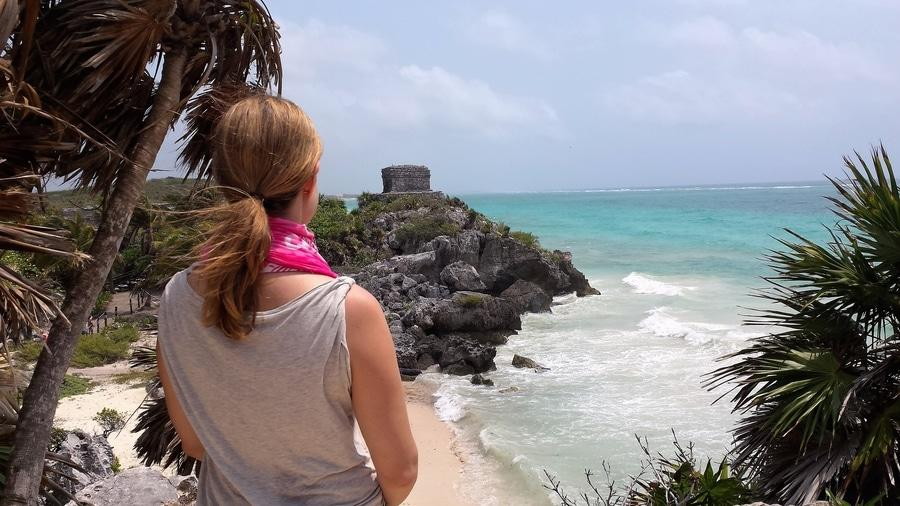 Safety tips for solo female travel, Mexico Tulum