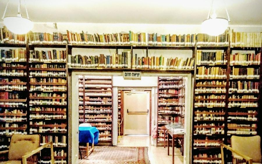 With about 20,000 titles, Ben Gurion's library took up half the space of this house