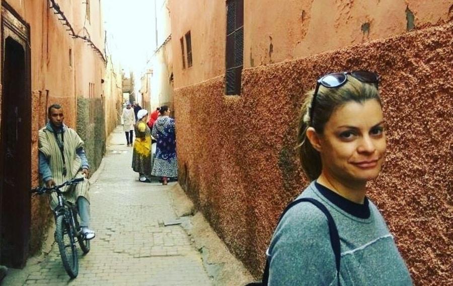 Attractions in Marrakechסמטה באיזור המדינה במרקש, מרוקו