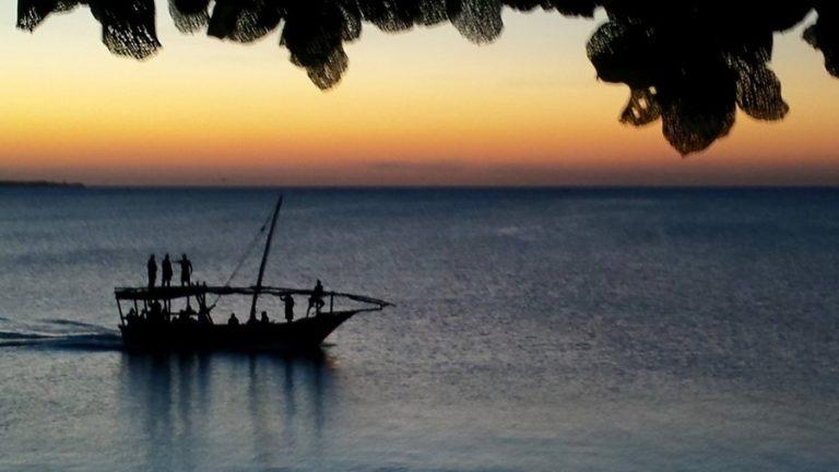 Sunset in Nungwi, Beach, Zanzibar Island, Tanzania