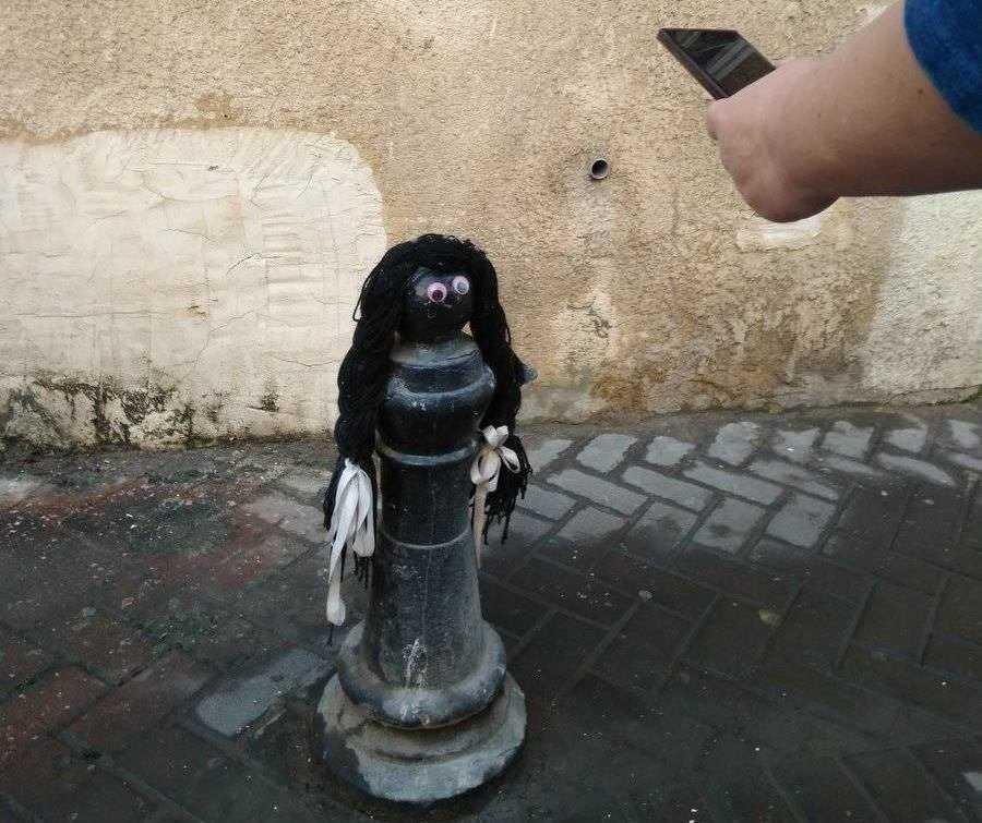 Tel Aviv Florenin neighborhood in Israel - tactile street art