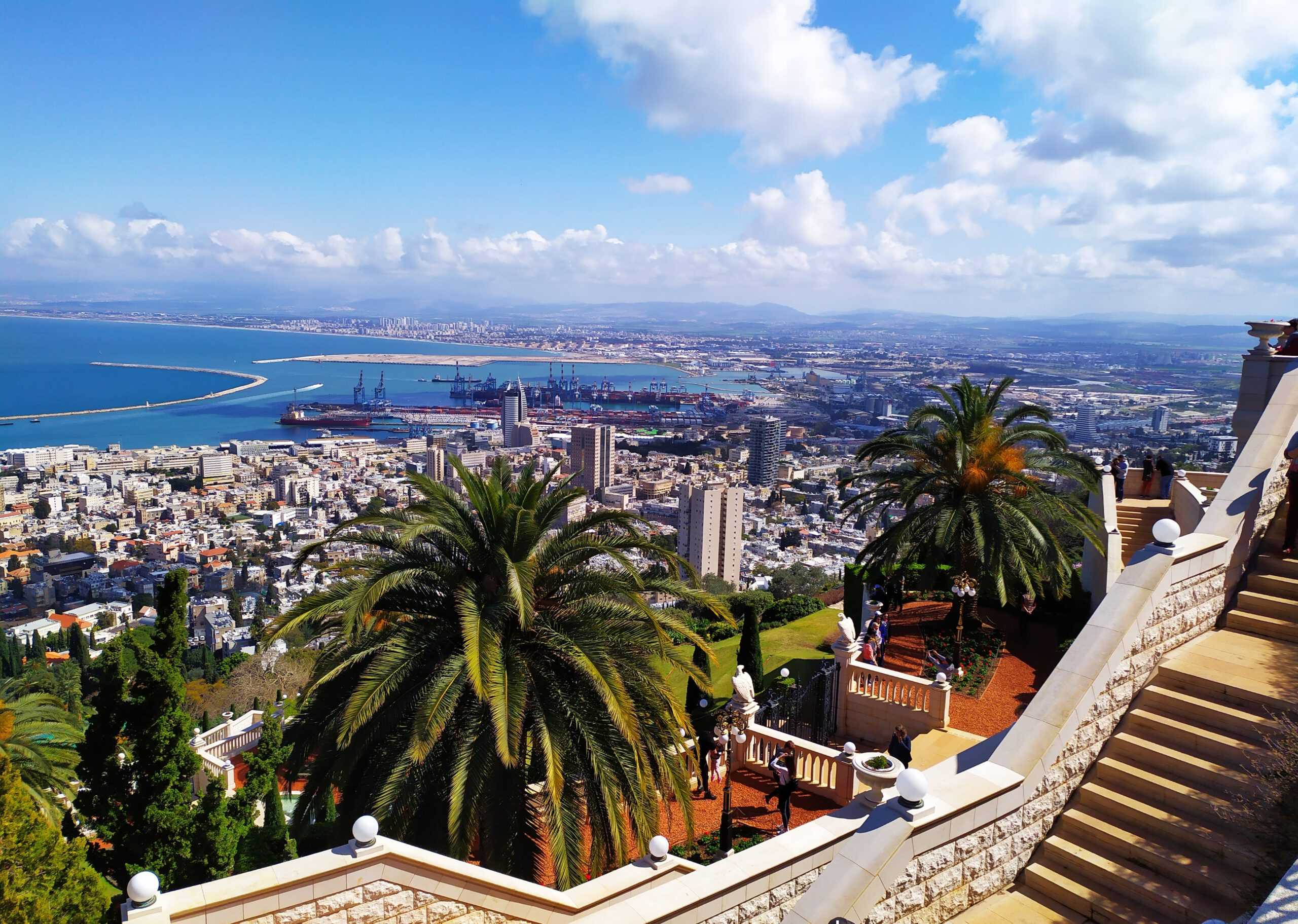 Attractions in Haifa for free, Bahai gardens in Haifa