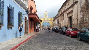 Antigua Guatemala street