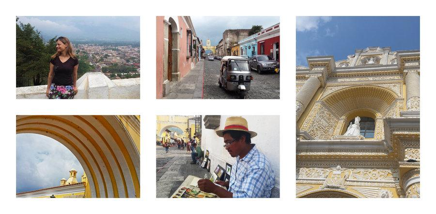 things to do in antigua guate - stroll through the old city