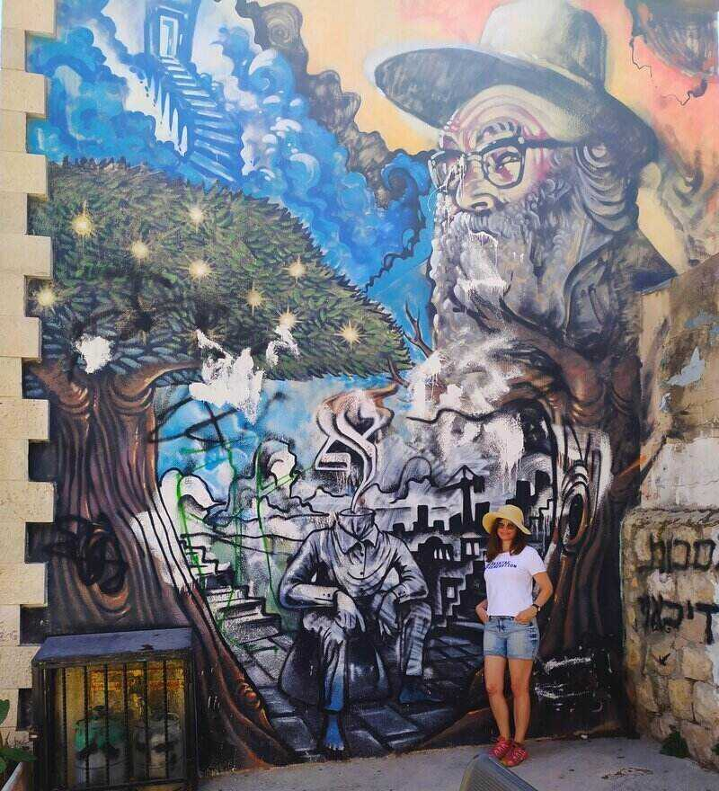 Painted Walls in Jerusalem