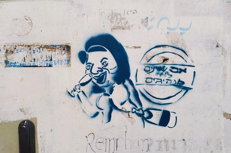 Graffiti Tour in Jerusalem - Political Criticism