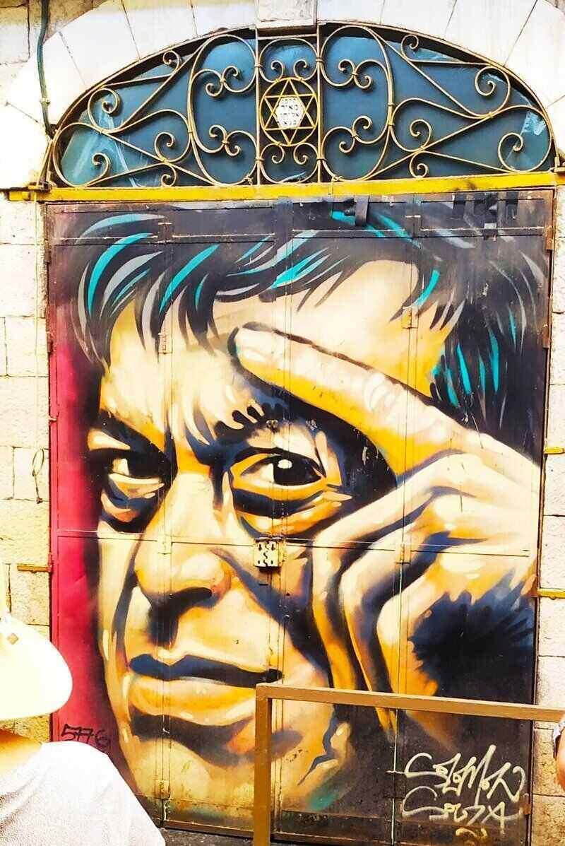 Graffiti Tour in Jerusalem - Yossi Banai