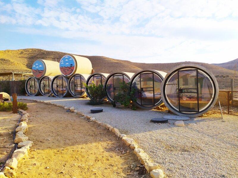 מקומות לינה מיוחדים בדרום - unique places to stay in Israel
