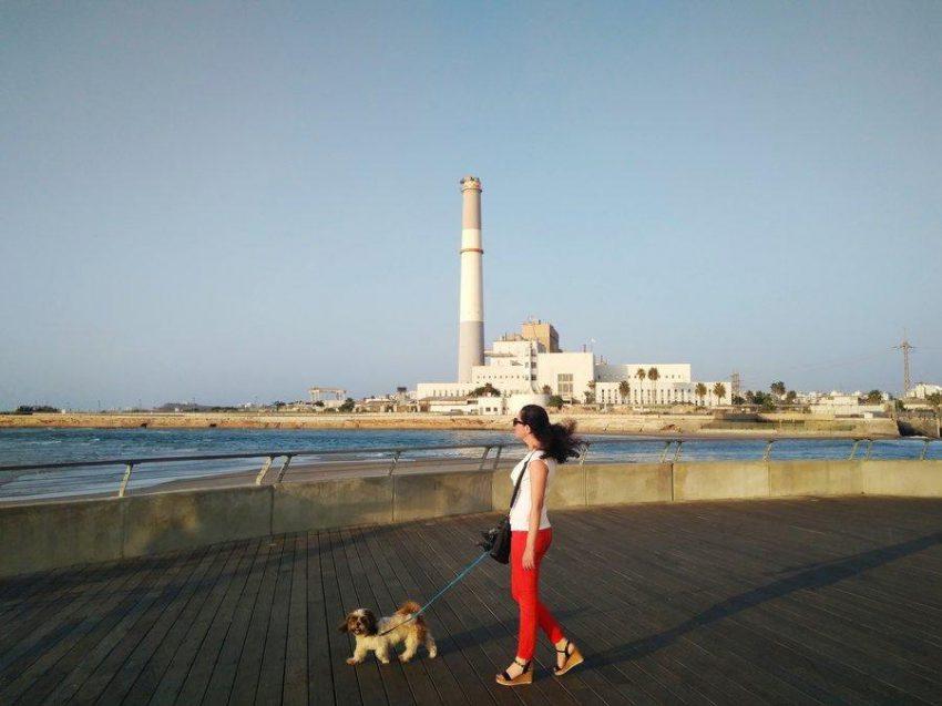 מקומות יפים לצילום בתל אביב, הטיילת של רידינג בנמל תל אביב